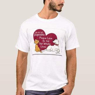 Not Disposable cat/dog T-Shirt