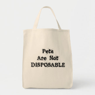 Not Disposable Grocery/Tote Bag