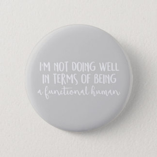 Not doing well badge button