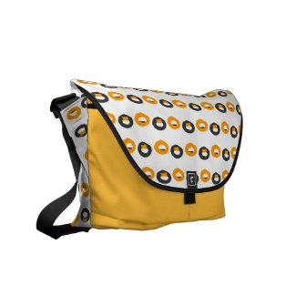 Not Donuts Messenger Bag rickshawmessengerbag