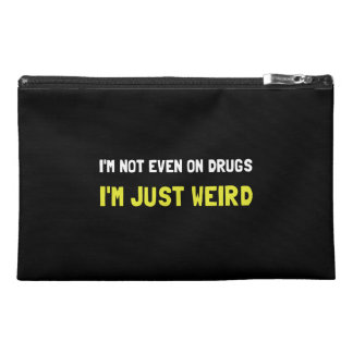 Not Drugs Just Weird Travel Accessory Bag