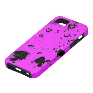 Not Enough Black Shockingly HOT PINK  Bay B iPhone SE/5/5s Case