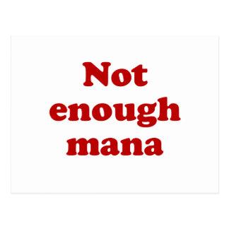Not Enough Mana Postcard