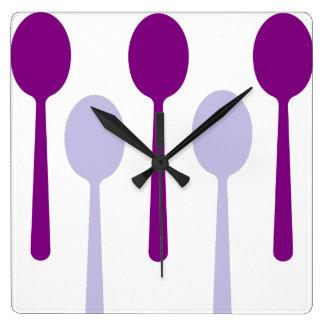 Not enough Spoons Wall Clocks