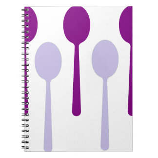 Not enough Spoons Spiral Notebooks