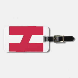 not equal bag tag