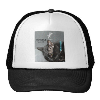NOT EVEN A BUN TO GO WITH IT TRUCKER HAT