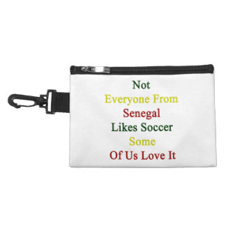 Not Everyone From Senegal Likes Soccer Some Of Us Accessory Bag