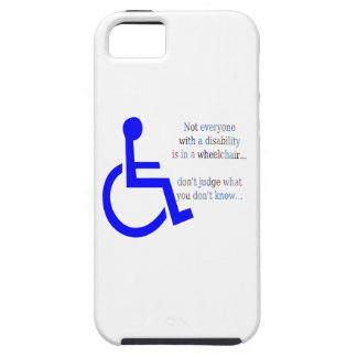 Not Everyone with a Disability is in a Wheelchair iPhone SE/5/5s Case
