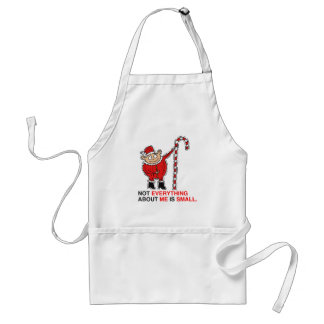 NOT EVERYTHING ABOUT ME IS SMALL -.png Adult Apron