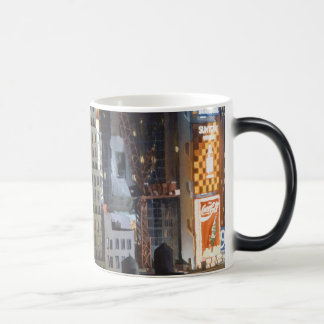 """Not Exactly Front Row Center"" New York Watercolor Magic Mug"