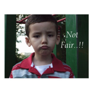 Not Fair Postcards