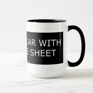Not Familiar with a Balance Sheet- Mug