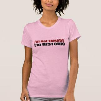 Not Famous I'M Historic T-Shirt