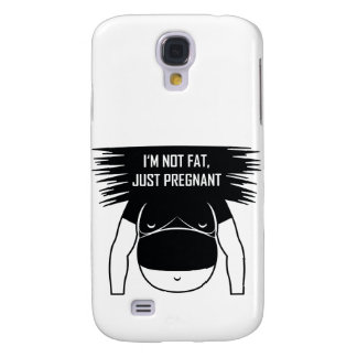 Not fat, just pregnant galaxy s4 cover