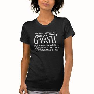 Not Fat Women's Dark T-Shirt