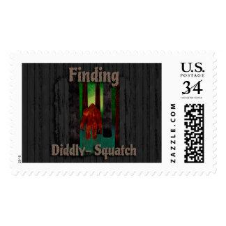 not finding bigfoot postage