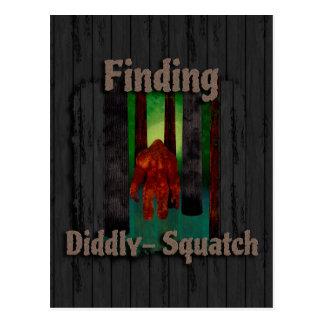 not finding bigfoot postcard