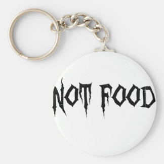 Not Food Keychain