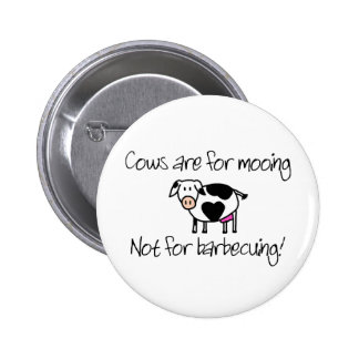 Not for Barbecuing 2 Inch Round Button