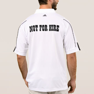 Not For Hire Polo