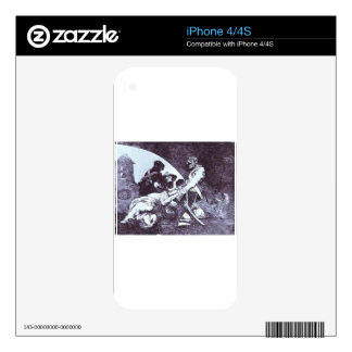 Not For Those by Francisco Goya Skin For iPhone 4S