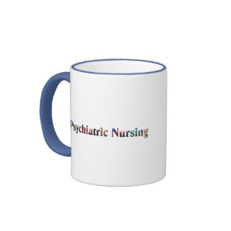 Not for Wimps!- Psych. Nurse Ringer Coffee Mug