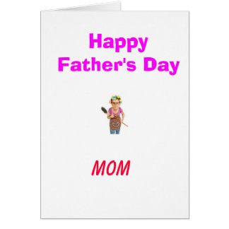 Not for Your Normal Father Greeting Card