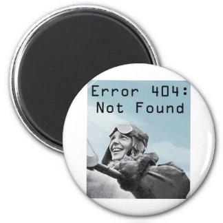 Not Found 2 Inch Round Magnet