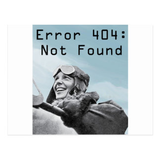 Not Found Postcard