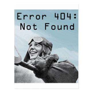 Not Found Postcard