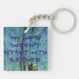 'Not Frank' Key Chain