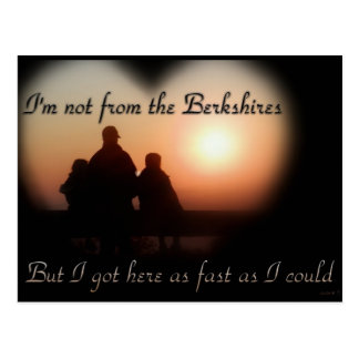 Not from the Berkshires Postcard