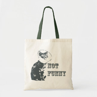 Not Funny Budget Tote Bag