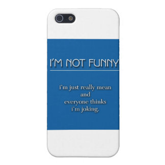 Not Funny Case For iPhone SE/5/5s