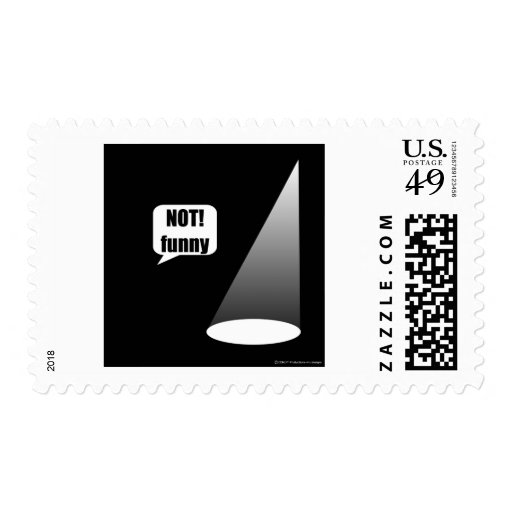 Not Funny Stamps