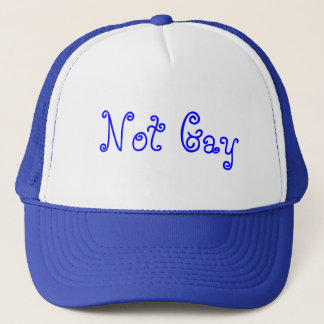 Not Gay Trucker Hat