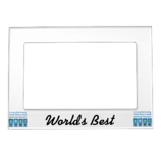 Not Global Warming-Menopause.png Magnetic Photo Frame