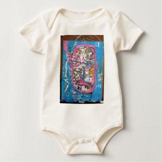 not godlike art by sludge baby bodysuit