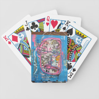 not godlike art by sludge bicycle playing cards