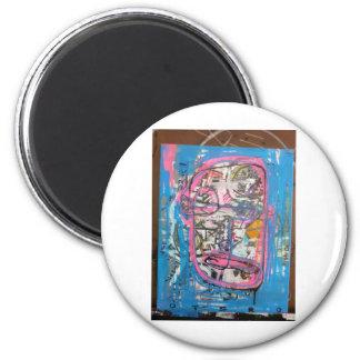 not godlike art by sludge refrigerator magnets