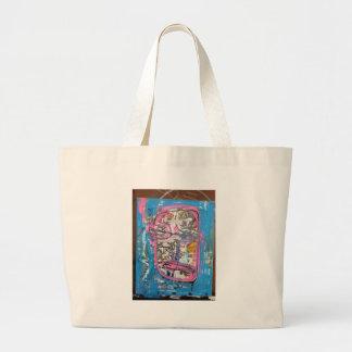 not godlike art by sludge tote bags