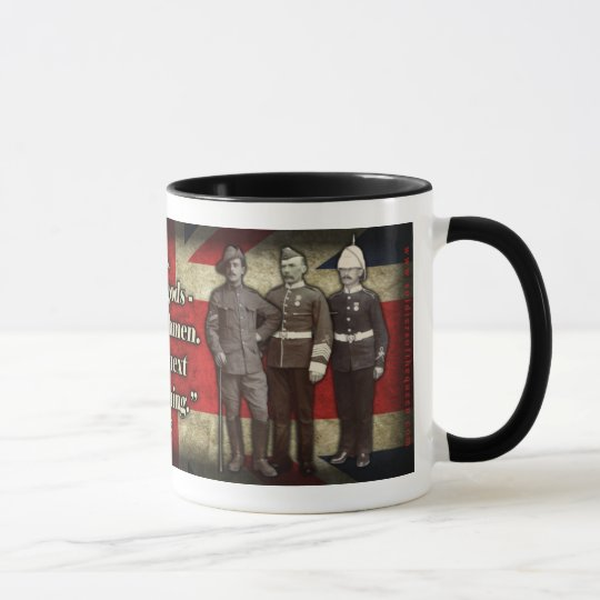 """Not Gods, Englishmen..."" Coffee Mug"