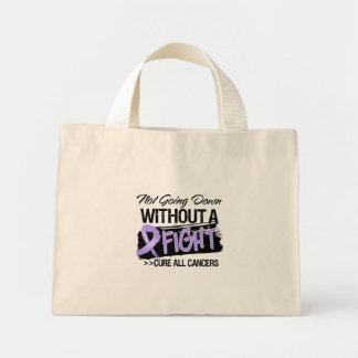 Not Going Down Without a Fight - Cancer Tote Bags
