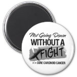 Not Going Down Without a Fight - Carcinoid Cancer Magnets