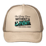 Not Going Down Without a Fight - Cervical Cancer Hats