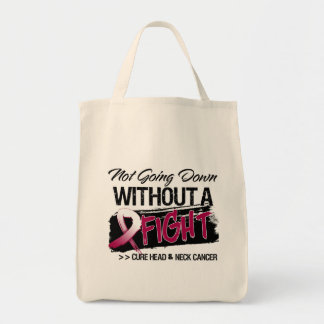 Not Going Down Without a Fight - Head Neck Cancer Tote Bag
