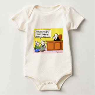 not guilty by reason of sarah palin baby bodysuit