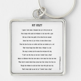 Not Guilty - Keychain