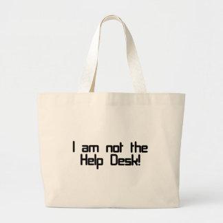 Not Help Desk Canvas Bag